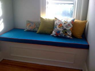 custom leather window seat cushions use bay window seat cushions covers as your needs spotlats