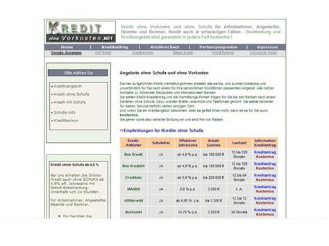 kredit ohne ohne arbeit kostenlose vermittlern kleinanzeigen