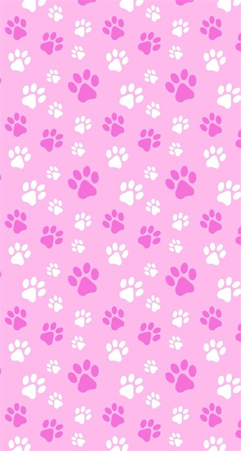wallpaper pink dog puppy kitten pets paws pink papers imprimibles