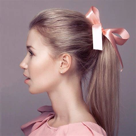 ribbon hairstyles 160 best hair bows images on hair dos braids