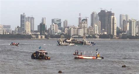ark boat bandra video mumbai s ark deck bar floatel capsizes near bandra
