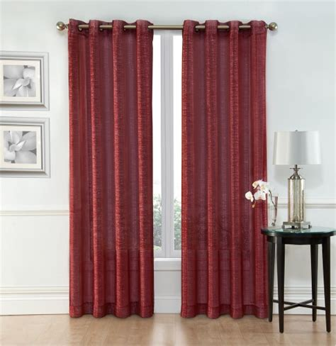curtains 54 x 84 sheer window curtain grommet panels width 54 quot x 84