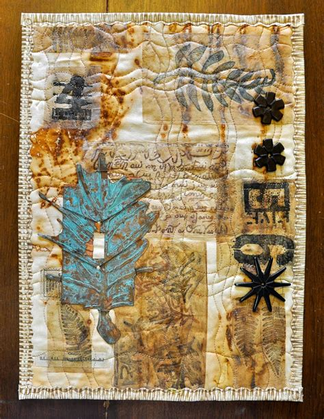 Mixed Media Quilts by Luann Kessi Mixed Media Quilt