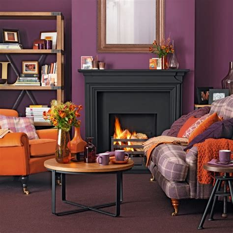 decor your living room with purple hues home decor and design purple and orange living room traditional decorating ideas