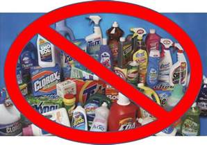 dangerous household chemicals toxic cleaning products 300x210 be green and eco clean