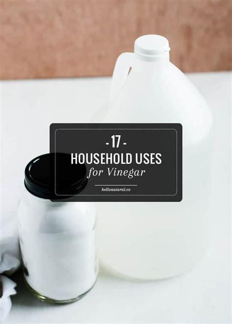 Distilled White Vinegar Detox Bath by 17 Household Uses For Vinegar Hellonatural Co