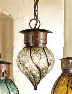 Rustic Glass Pendant Lights Rustic Southwest Glass Pendant Light Small Reclaimed Furniture Design Ideas