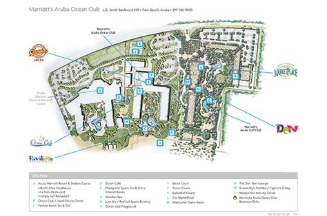 club resort map marriott aruba club aruba resorts marriott resorts