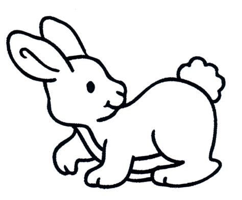 free coloring pages of rabbit