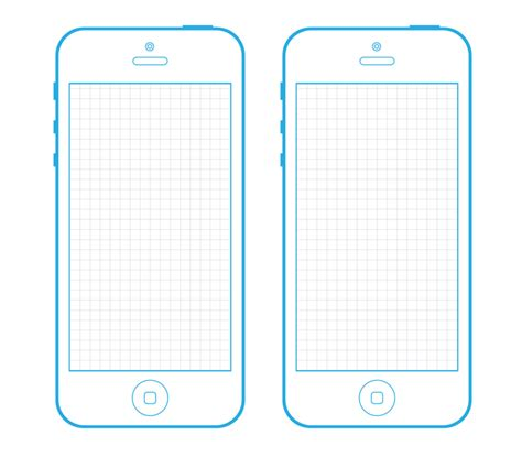 iphone 5s template iphone 5 wireframe template for your next project