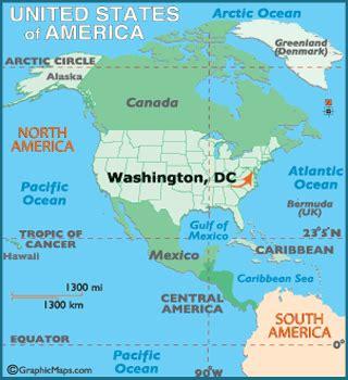 washington dc on map of usa washington dc map geography of washington dc map of