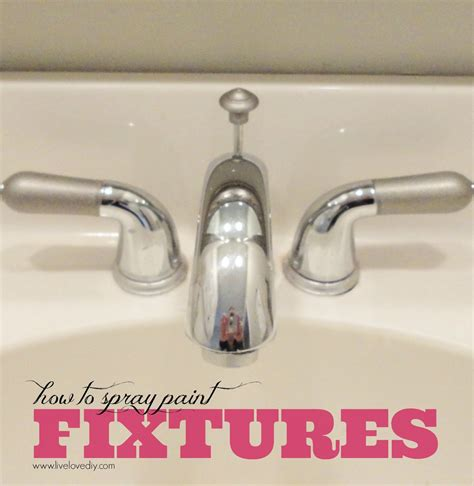 painting bathroom fixtures livelovediy 10 spray paint tips what you never knew
