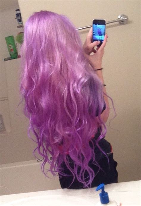 manic panic ultra violet hair dye hot topic manic panic ultra violet mixed with a lot of white