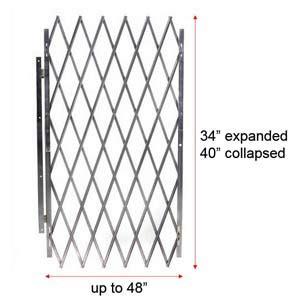 40 high folding cisco eagle catalog retractable folding door gate 48