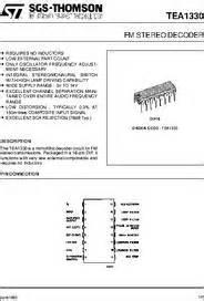 TEA1330 datasheet - FM Stereo Decoder