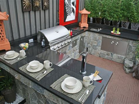 outdoor kitchen countertop ideas outdoor images of outdoor kitchen metal countertop ideas