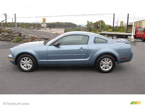 2008 ford mustang v6 specs 2008 windveil blue metallic ford mustang v6 deluxe coupe