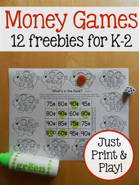 printable money games print play money games for k 2 learners this reading