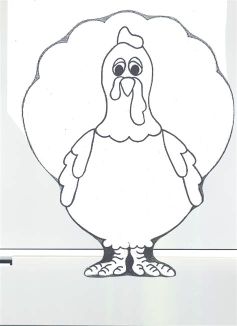free coloring pages of turkey disguise