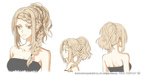hairstyle design ffxiv the probable winners for the hairstyle design contest