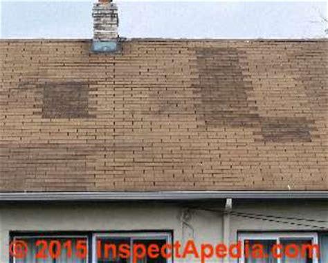 asphalt shingles nailed   ladder pattern shingle