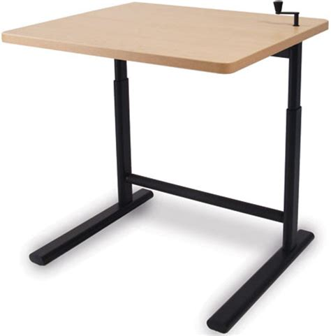 Sis Move 1607 Or 1609 Rectangle Single Surface Crank Cheap Sit Stand Desk