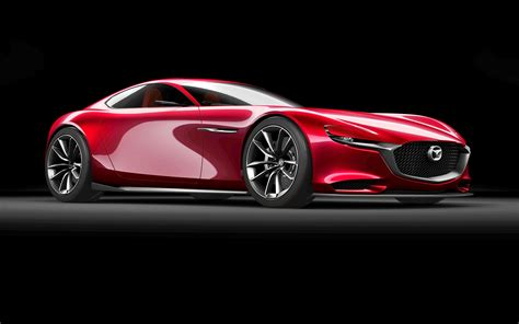 mazda motors mazda rx 9 previewed with rx vision rotary concept at