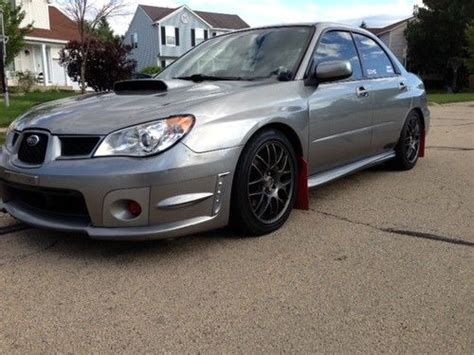 wrx subaru grey sell used subaru 2008 west coast custom wrx sti matte