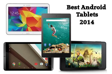 buying guide 2014 the best android tablets - Best Android Tablet 2014