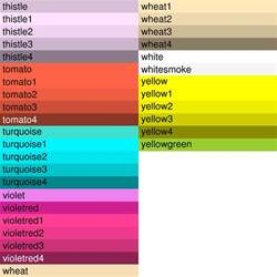 what color is my name named colors