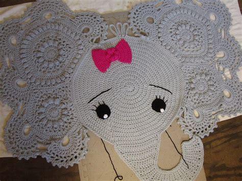 elephant rug crochet is the way where i ve been