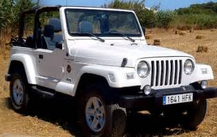 white jeep wrangler tj search on the hunt