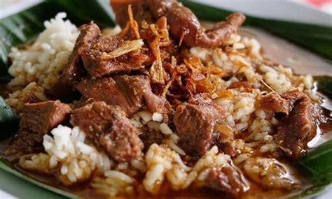 makanan khas jawa tengah masakan  dibuat