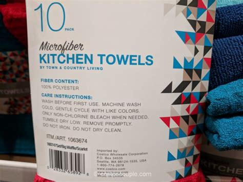 Town And Country Living Kitchen Towels by Town And Country Living Microfiber Kitchen Towels