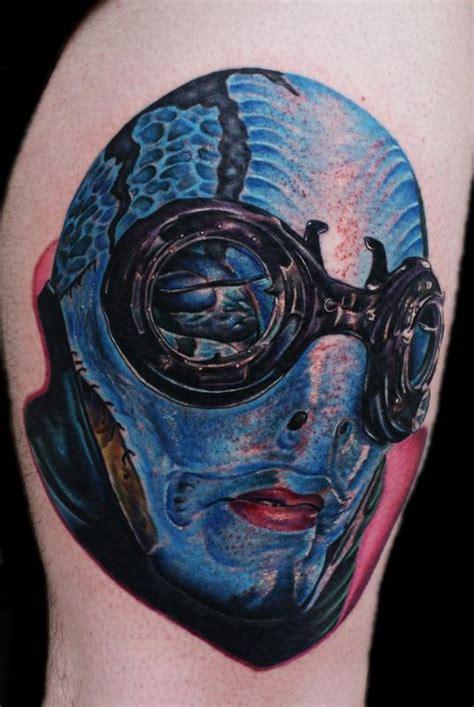 abe sapien by justin mariani tattoos