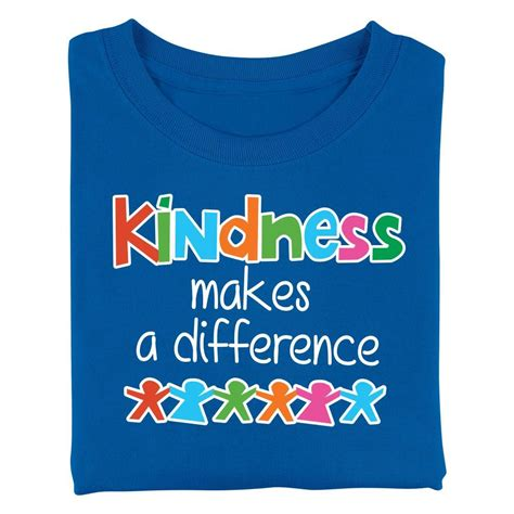 kindness   difference youth  shirt positive promotions