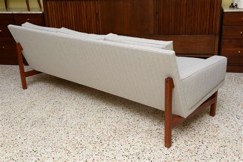 Houndstooth Sofa by Houndstooth Wegner Style Three Seat Sofa At