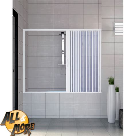 box per vasca da bagno a soffietto all more it box cabina porta doccia per vasca in pvc con