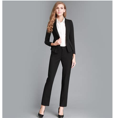 female working suits 2015 2015 new fashion solid women business suits custom made