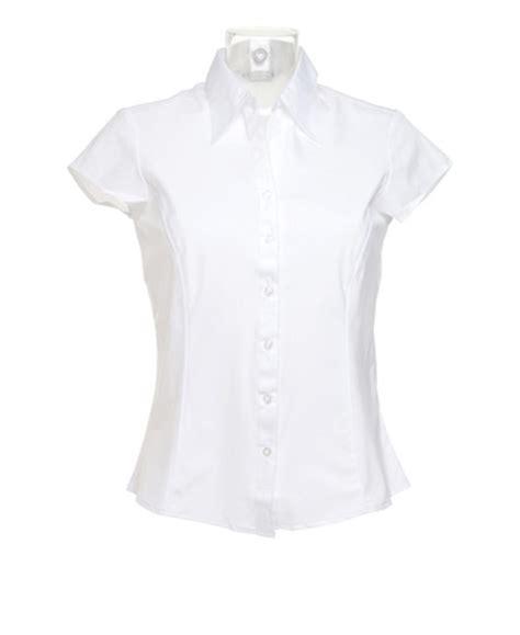 19643 Blouse Blackwhite new bargear womens bar work cap sleeved shirt blouse black white ebay