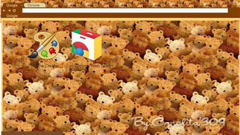 themes google chrome by sriitadewatt on deviantart theme google chrome teddy bear by sriitadewatt on deviantart