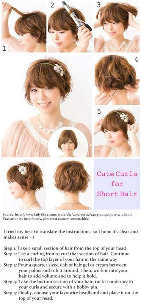 by step instructions for short shag haircut step by step