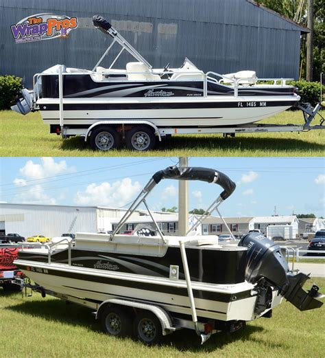 deck boat wraps deck boat bb graphics the wrap pros