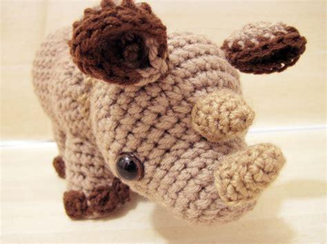 amigurumi rhino pattern buy little rhylie the rhino amigurumi pattern