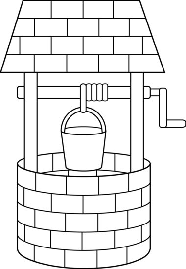 Free Coloring Pages Of Water Well | free coloring pages of water well