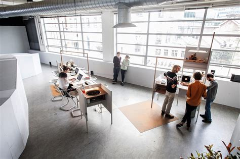Office Environments by Knol Conducts Out Of Office As Experiment On Work Environments