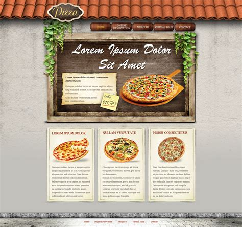30 Best Free Restaurant Templates And Themes Restaurant Website Template