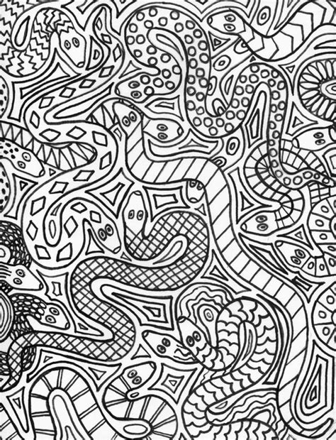 doodle snake free 264 best colouring dragons lizards snakes