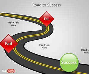 Free Roadmap Powerpoint Templates Road Powerpoint Template