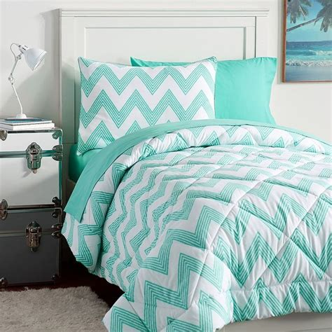 comforters for teens pb teen zig zag stripe value comforter set twin pool